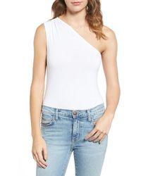 1.STATE - One-shoulder Bodysuit - Lyst