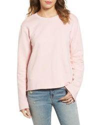 Sincerely Jules - Bell Sleeve Sweatshirt - Lyst