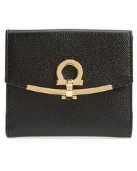 Ferragamo - Icona Medium French Wallet - - Lyst