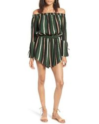 Faithfull The Brand - Bisque Off The Shoulder Romper - Lyst