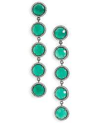 Susan Hanover - Five-stone Drop Earrings - Lyst