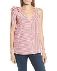 Vineyard Vines - Sleeveless Striped Bow Top - Lyst