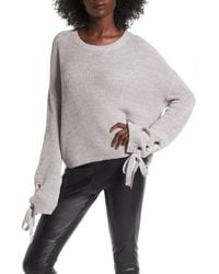 Love By Design - Grommet Sleeve Pullover - Lyst