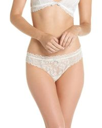 Eberjey - Rosario Classic Lace Thong - Lyst