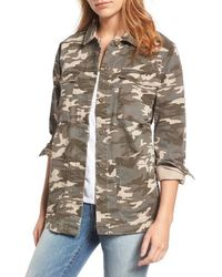 Jag Jeans - Autumn Camo Shirt Jacket - Lyst