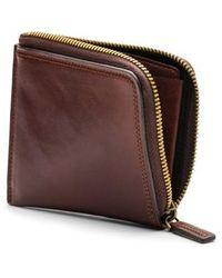 Bosca - Dolce Leather Zip Wallet - Lyst