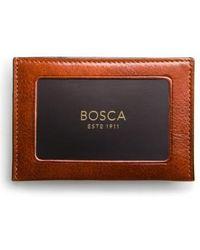 Bosca - Aged Leather Wallet - Lyst