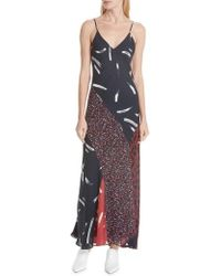 Joie - Braewin Silk Maxi Dress - Lyst