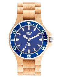 WeWood - Date Mb Wood Bracelet Watch - Lyst