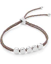Monica Vinader - Engravable Beaded Friendship Bracelet - Lyst