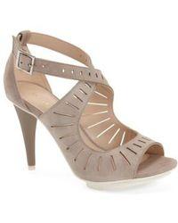 Pelle Moda   'menlo' Cutout Sandal   Lyst
