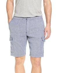 Tommy Bahama - Beach Authentic Fit Linen Blend Cargo Shorts - Lyst