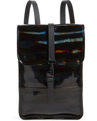 Rains - Mini Waterproof Holographic Backpack - Lyst