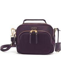 Tumi Voyageur Troy Nylon Crossbody Bag - Purple - Multicolor