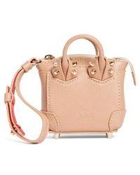 Christian Louboutin - Eloise Mini Leather Bag Charm - Lyst