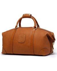Ghurka - Cavalier I Leather Duffel Bag - Lyst