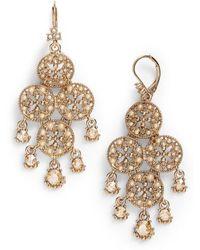 Marchesa - Chandelier Drop Earrings - Lyst