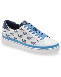MICHAEL Michael Kors Chapman Lace-up Sneaker - Blue