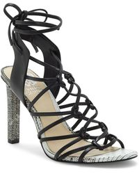 Vince Camuto - Sherinda Cage Ankle Wrap Sandal - Lyst