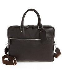 Eleventy - Leather Laptop Bag - Lyst