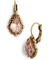 Sorrelli - Kite Crystal Drop Earrings - Lyst