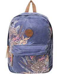 O'neill Sportswear - Blazin Floral Print Backpack - - Lyst