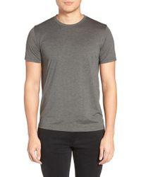 Theory | Silk & Cotton Crewneck T-shirt | Lyst