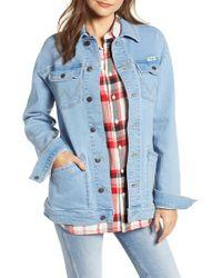 Wrangler - Oversized Denim Jacket - Lyst