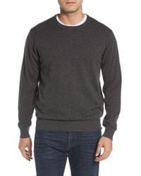Peter Millar - Wool & Cotton Crewneck Sweater - Lyst