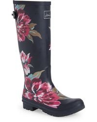 Joules 'welly' Print Rain Boot - Multicolour