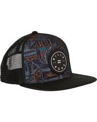 Lyst - Billabong Rotor Trucker Hat in Black for Men 8409efb56dee