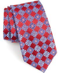 Nordstrom - Cole Floral Silk X-long Tie - Lyst