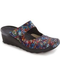 Wolky | 'up' Mary Jane Clog | Lyst
