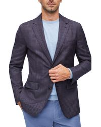 Bonobos Unconstructed Slim Fit Wool Blazer - Blue
