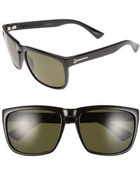 Electric 'knoxville Xl' 61mm Polarized Sunglasses - Gloss Black/ Gray Polar