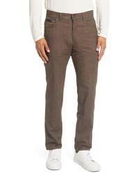 Brax Cooper Fancy Five-pocket Pants - Brown