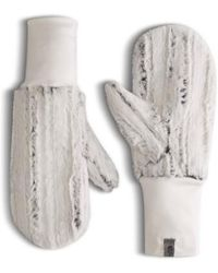 The North Face - Furlander Faux Fur Mittens - Lyst