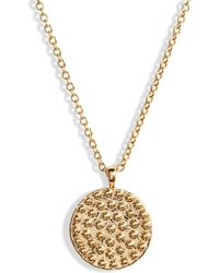Gorjana - Bali Coin Pendant Necklace - Lyst
