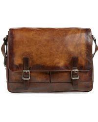 Frye - 'oliver' Leather Messenger Bag - Lyst