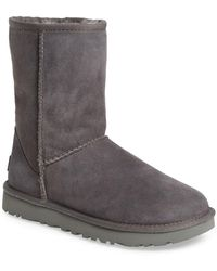 UGG - Ugg 'classic Ii' Genuine Shearling Lined Short Boot - Lyst
