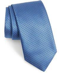 Canali - Solid Silk Tie - Lyst