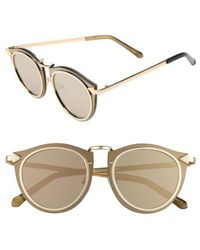 63f6df5e083 Lyst - Karen Walker Superstars Creepers Sunglasses W  Tags Black in ...