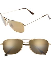 Ray-Ban - Tech 59mm Polarized Sunglasses - Lyst