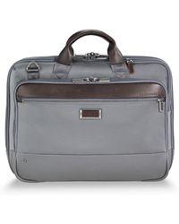 Briggs & Riley Medium Briefcase - Gray