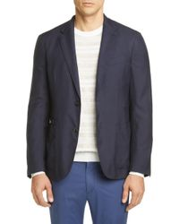 Ermenegildo Zegna - Informale Classic Fit Cashmere & Silk Sport Coat - Lyst