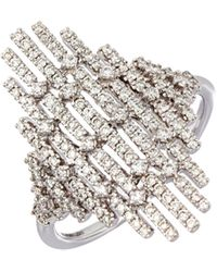 Bony Levy - Multiple Bar Diamond Statement Ring (nordstrom Trunk Show Exclusive) - Lyst