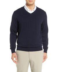 Cutter & Buck - Lakemont V-neck Sweater - Lyst