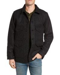Filson - Mackinaw Cruiser Wool Work Jacket - Lyst