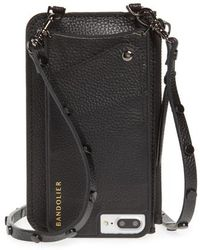 Bandolier - Jane Leather Iphone 7/8 & 7/8 Plus Crossbody Case - - Lyst