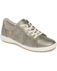Josef Seibel - Leather 'caren 01' Casual Trainers - Lyst